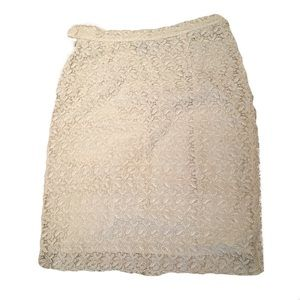 Dresses & Skirts - Accento Italy lace skirt 10
